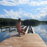 Luokesai lake, Lithuania, 23 May 2018
